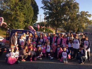 Making Strides for Breast Cancer Walk