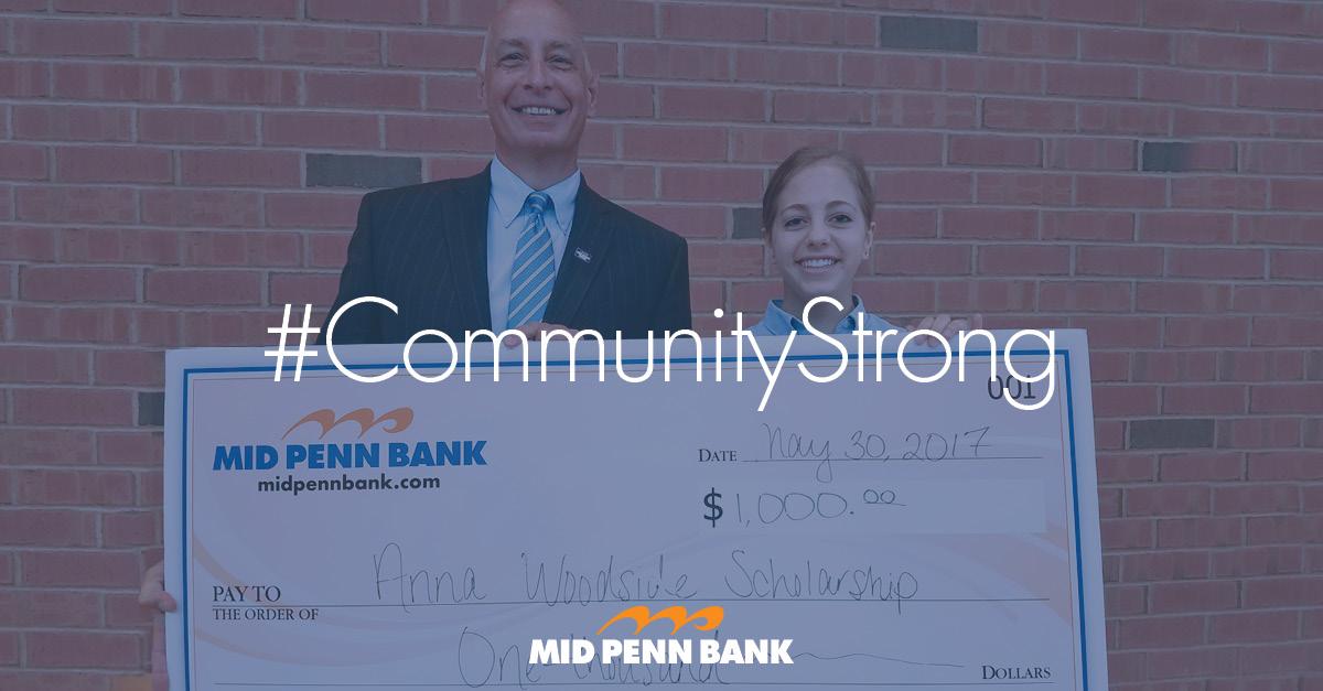 Community Strong - Anna Woodside Scholarship recipient Kayla Anna